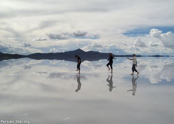 بزرگترین آینه طبیعی دنیا